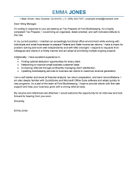 Leading Professional Tax Preparer Cover Letter Examples Resources