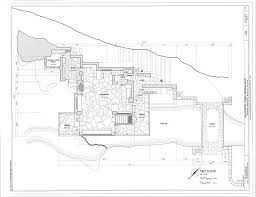13 Best Architecture FLW Images On Pinterest  Falling Waters Falling Water Floor Plans