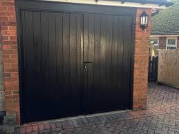 side hung garage door garage doors side hinged