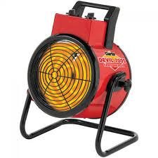 fan with heater. clarke devil 7005 5kw industrial electric fan heater with a