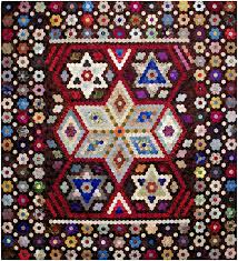 Red Pepper Quilts: Making the Australian Quilt: 1800-1950 & Gertrude Mary Day - Hexagon Quilt (stars and tumbling blocks) | Making the  Australian Adamdwight.com