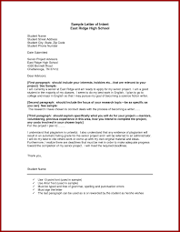 Letter Of Intent Sample Word Inspirationa Letter Intent Template