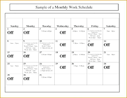 work out schedule templates monthly work schedule template excel 2017 related post le employee