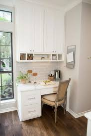 Office in kitchen Tiny Small Office Space Next To The Window In Separate Corner Of The Kitchen Digsdigs 25 Ideas To Incorporate An Office Nook Into Kitchen Digsdigs