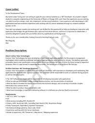 Cover Letter Engineering Career Center University Of