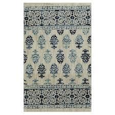 allen roth rugs beige rectangular indoor woven area rug common 2 x 4 allen and roth