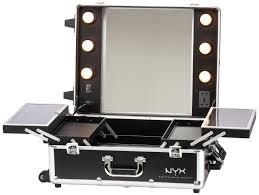 fabulous black portable makeup vanity storage with lighted mirror wonderful ideas of black makeup vanity