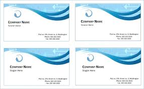 Free Business Cards Templates Word Choice Image Ideas Decent For