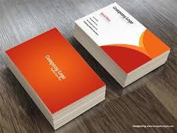 Free Psd Business Card Templates Creative Psd Business Card Template Free Download