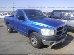 Salvage Dodge Ram Pickup 1500S For Sale In Lubbock Texas