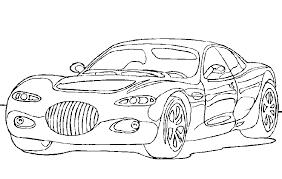Kleurplaten Met Auto