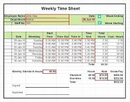 timecard hours excel timesheets working hours excel template download excel