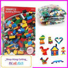 Bộ Đồ Chơi Xếp Hình Lego cho bé tư duy sáng tạo thông minh1000pcs