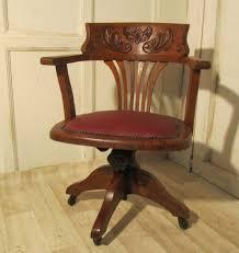art deco office chair. victorian art nouveau carved oak desk or office chair deco h