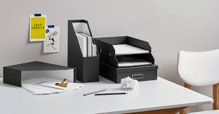 desk office file document paper. a made essentials set of 2 document files in black desk office file paper n