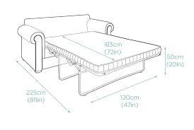 2 seater sofa bed 173cm ra1 sofa