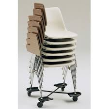 stacking tablet arm chair by ki 1000txs stock 52478