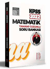 2022 KPSS Matematik Tamamı Çözümlü Soru Bankası - İlyas Güneş |  kitapy