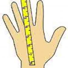 how to measure hand size for gloves