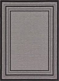 outdoor collection area rug gray 7u0027 x 10u0027feet perfect for 7 10 outdoor rug u48