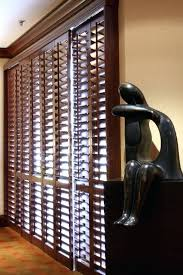 wood shutters for sliding glass doors plantation shutters for sliding glass doors doggy door s home