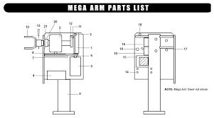 liftmaster mega arm parts liftmaster mega arm barrier gate opener part garage door logic schematic garage door opener circuit schematic liftmaster mega arm