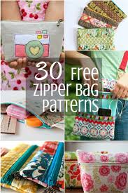 Zipper Pouch Pattern Free