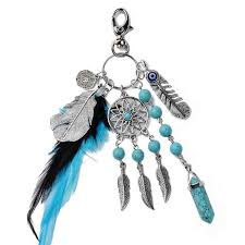 Women <b>Keychain</b> Jewelry Natural <b>Dreamcatcher</b> Women Bag ...
