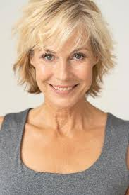 short haircuts for women over 50 that