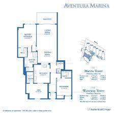 aventura marina ii alejandro cupi floor plans