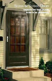 anderson 3000 series storm door series full view