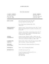 Resume Blank Template Custom Template Cover Letter Free Chronological Resume Within Templates