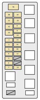 toyota tundra (2001 2002) fuse box 2001 Tundra Tail Light Wiring Diagram Basic Brake Light Wiring Diagram