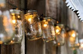 rustic wedding lighting. mason jars outdoor wedding lighting rustic