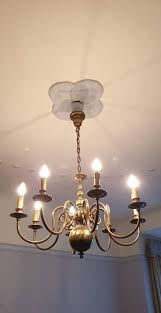 Kronleuchter Leuchter Deckenlampe Lampe Gold