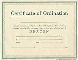 Ordination Certificate Template Pastor Ordination Certificate Template Tirevi Fontanacountryinn Com
