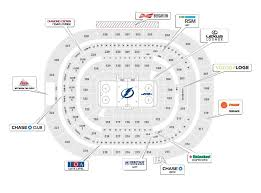 10 New Tampa Bay Lightning Seating Chart Pictures Percorsi