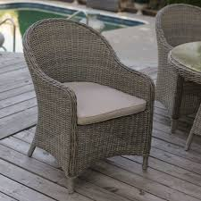 wicker patio dining chairs. Modren Wicker Mingle All Weather Wicker Patio Dining Chair Set Of 2 On Chairs I