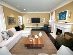 Decorating Rectangular Living Room Model Cool Decorating