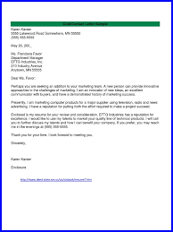 Sample Cold Contact Cover Letter Guamreview Com