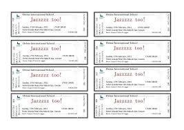 Free Meal Ticket Template Cool Food Ticket Template Retailbuttonco
