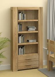 atlas chunky oak hidden home. chunky oak bookcase with drawers atlas solid hidden home s