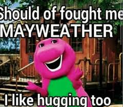 Floyd Mayweather is given the viral treatment after defeating ... via Relatably.com