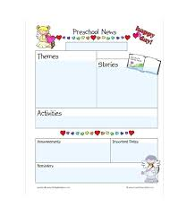 Teachers Newsletter Templates Free Newsletter Template Printable Templates For Teachers