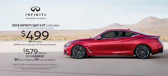 2018 infiniti specials q60 3 0t luxe awd