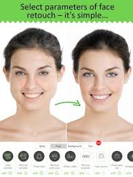 retouch me body face editor for beauty photo apk screenshot