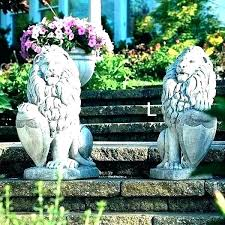 concrete yard statues lawn large outdoor dragon for garden statue and inspiration toddler children used