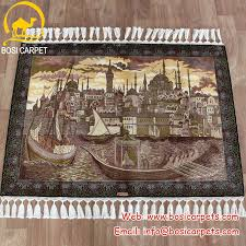 hanging wall carpet handmade silk carpet in stock 24 designs available