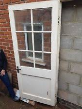 vine external wooden door 1950s reclaimed