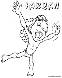 Small Picture Tarzan coloring pages Coloring pages to download and print